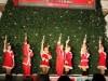 あべのルシアスのクリスマスツリー点灯-OSK日本歌劇団のショーも