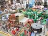 大阪阿部野橋駅に「レゴランド・ジャパン」ジオラマ 4万8000個のレゴブロック使用