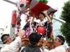 大阪夏祭りの始まり「愛染まつり」 宝恵駕籠パレードで幕開け