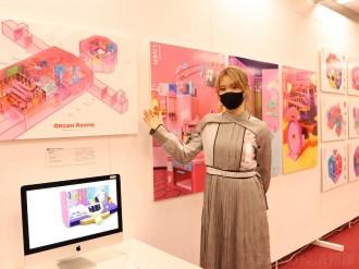あべのハルカスで「大阪芸術大学グループ卒業制作選抜展」 45作品を展示