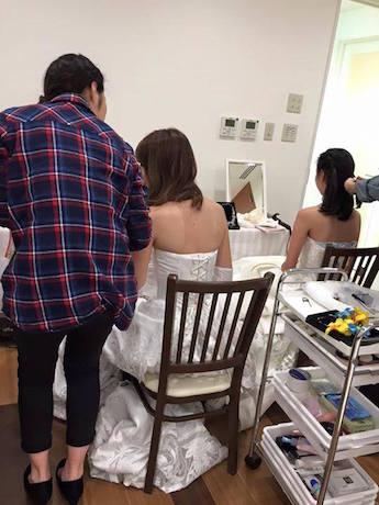 東京ウェディングカレッジの学生が「ウェディングドレスショー」をプロデュースする