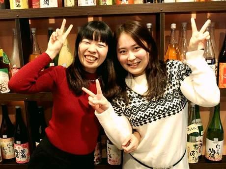 主催者の松田早織さん(左)と齋藤尚子さん(右)