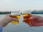 七夕の夜、千住・荒川河川敷の「水辺で乾杯」 ミズベリングに賛同