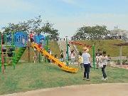 足立・新田に住民待望の新公園「新田稲荷公園」 盆踊りイベントも