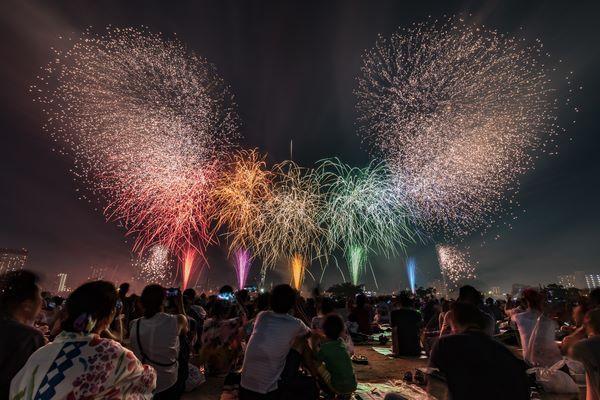 昨年の「足立の花火」