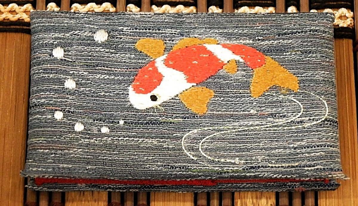 江戸刺繍職人による一点物の製品