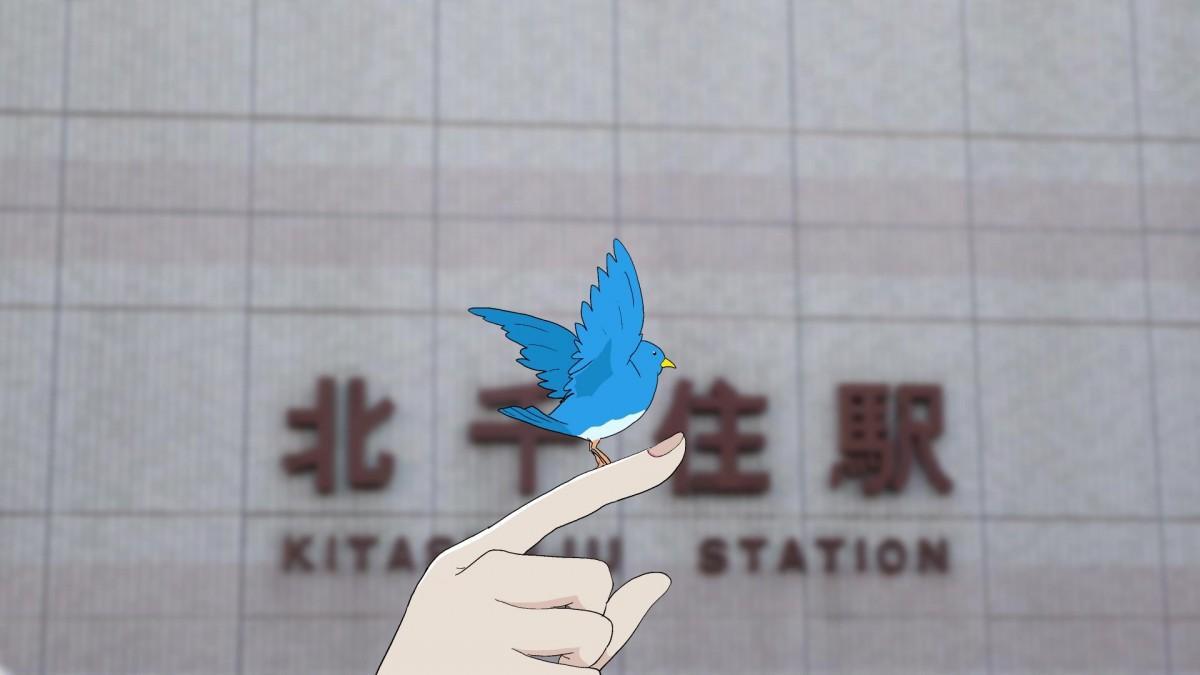 グランプリを受賞した作品「見つけた。幸せの青い鳥」
