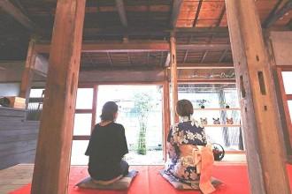 北千住に日本茶カフェ「ろじこや」 古民家を再生、和文化体験の場に