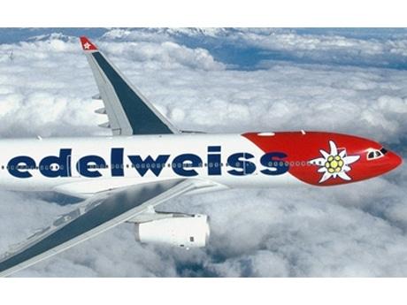 スイスのエーデルワイス航空、国内12都市からチャーター運航