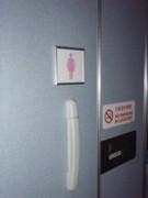 ANA、機内に女性専用化粧室導入開始-男性専用求める声も