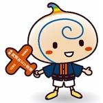 徳島空港に新キャラ「うずぴー」-滑走路延長・新ターミナル開業に合わせ観光PR