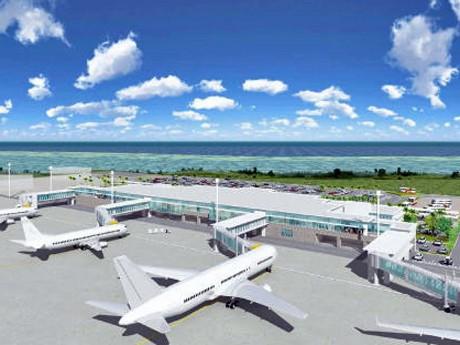 新石垣空港ターミナルの基本設計まとまる-床面積は現在の3倍以上に