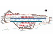 福岡空港に新滑走路建設計画案-2,500メートル平行滑走路で年18.3万回発着へ