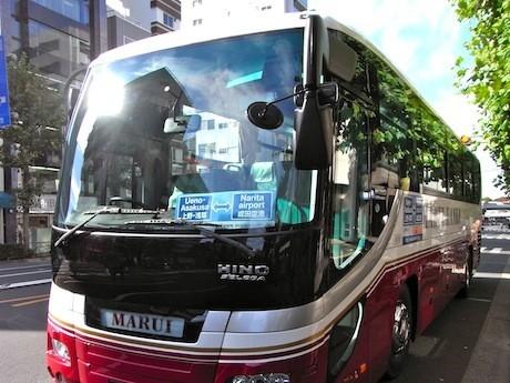 成田空港~上野・浅草間を1,000円で結ぶ格安バス