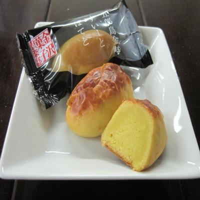 加賀野菜使う空スイーツ「五郎島金時すいーとぽてと」、小松空港で人気に