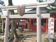 北九州空港に「バレンタイン神社」-良縁成就「恋木神社」の札まつる