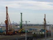 羽田空港国際線旅客ビル、拡張・増設工事進む-「サテライト」も新設へ