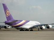 関空~バンコクに世界最大エアバスA380-関空初就航、タイ国際航空