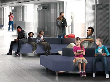 成田空港新LCCターミナルに「空港の家具」-無印良品がデザイン・制作