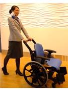 ANAが羽田空港に樹脂製車いす導入 保安検査がスムーズに