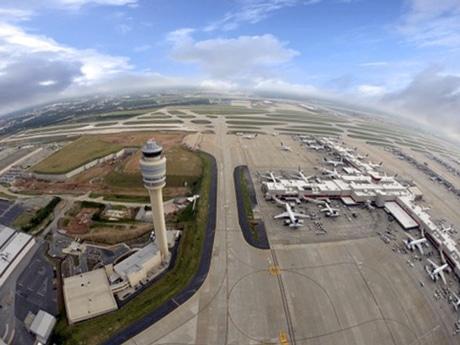 アトランタ空港の年間旅客数が1億人超に 2015年調査、羽田は世界5位
