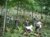 大館能代空港、「白神の森づくり」でブナ植樹-ANA環境活動で