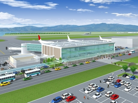 "New Name for Tokushima ""Awa Odori"" Airport to go with Opening of New Terminal next Spring"