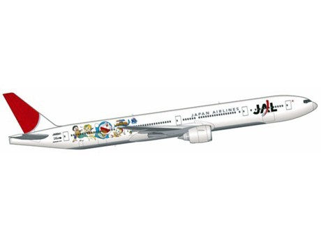 "JAL to Commission ""Doraemon Jet"" in February - 30th Anniversary Anime Film"