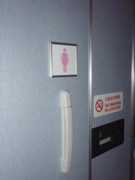 ANA Offers Women-Only Lavatories on Planes - Men Also Want Theirs