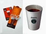 Starbucks Coffee on Domestic Flights - ANA & Starbucks Japan Service Collaboration