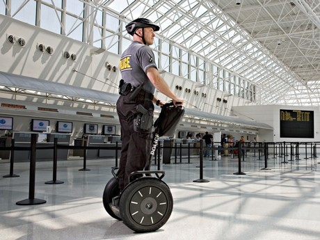 Segway Security Trials at Narita Airport