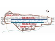 Draft Construction Plan for New Runway at Fukuoka Airport - 2,500 Meters Long, Will Handle 183,000 Flights Annually
