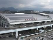 Solar Panels at Fukuoka Airport Nearly as Large as Haneda and Chubu's