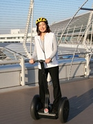 Guided Tours of Centrair Terminal Riding on Segways