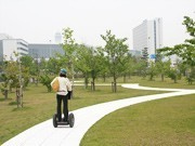 New Outdoor Course for Centrair's Segway Guide Tours