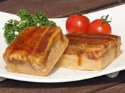 Popular Original Pork Dish Made with Local Ingredients at Nagasaki Airport