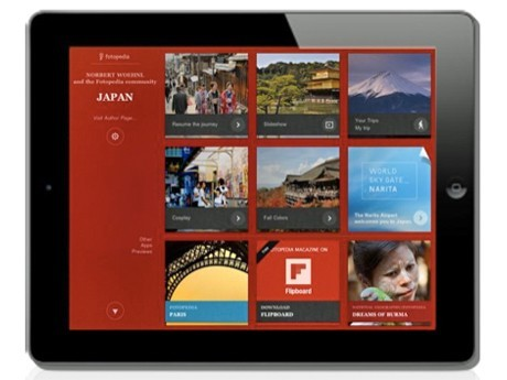Narita Airport Collaborates in Producing Japanese Language Version of Japan Photo Album App