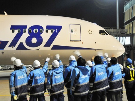 Boeing 787's 1st Int'l Long-Haul Route as ANA Adds Haneda-Frankfurt Service