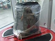 Baggage Wrapping Services Spreading in Japan, Now at Centrair