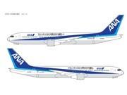 ANA Wrap Advertising Promotes Tokyo Olympic Bid at Nation's Airports