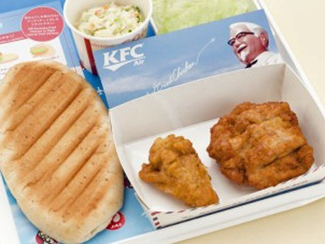 JAL-KFC Collaboration on Narita Departures to Western Countries is 7th in Air Series Project