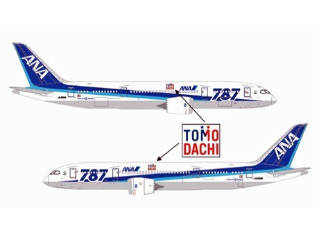 ANA Sponsorship Agreement to Support Japan-U.S. Friendship with Special Liveries