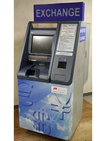 New Automatic Currency Exchangers at Haneda Airport Monorail Terminal Recycle Multiple Currencies