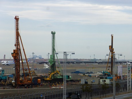 Construction Continues on Expansions & Additions at Haneda Int'l Terminal - Plus New