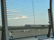 Part of Haneda Int'l Terminal Observation Deck Fence Replaced with Wire to Improve View