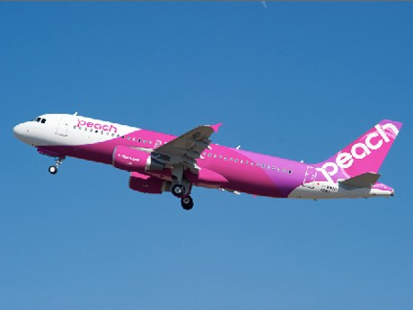 Peach's New KIX-NRT Route in Oct. 1st to Tokyo Area - 2 Roundtrip Flights Daily