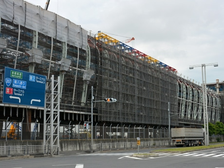 Construction Continues at Haneda Airport Int'l Terminal - New