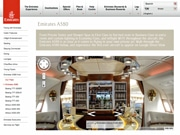 Panoramic Views inside Emirates A380 Made with Google Street View Posted Online