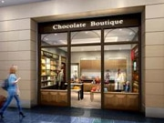 Chocolate Boutique at Haneda Int'l Terminal Duty-Free Area Selling Beloved Brands