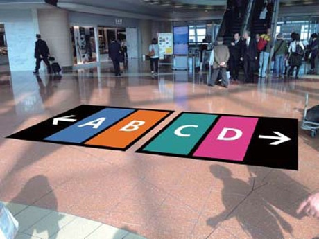 Haneda Terminal 2: Color-Coded Boarding Gates and New Baggage Claim Area Displays